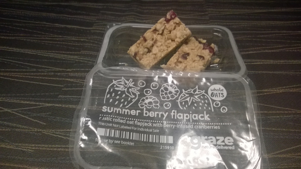Graze: Summery Berry Flapjack