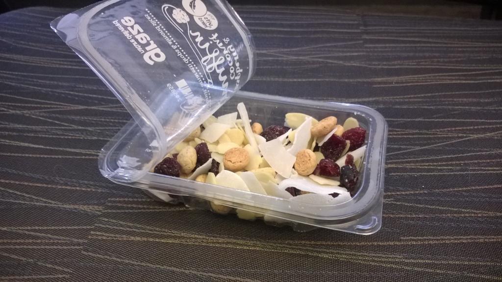 Graze: Raspberry & Coconut Muffin