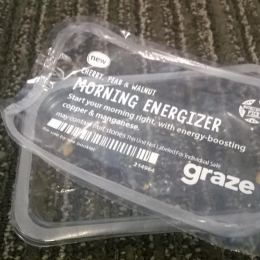 Graze: Morning Energizer: oops - should have taken that picture first!