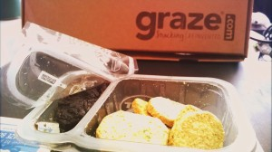 Graze: Cheese & Chive Oatbakes (and caramelized onion marmalade)